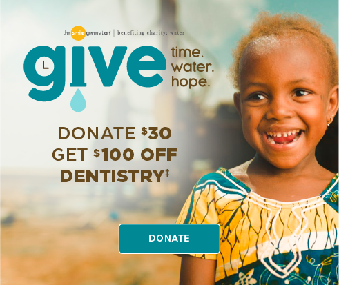 Donate $30, Get $100 Off Dentistry - Folsom Hills Dentistry and Orthodontics